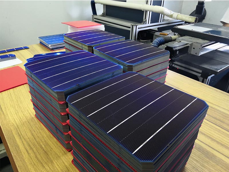Solar cell cutting