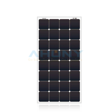 120w back contact cell mono solar panel